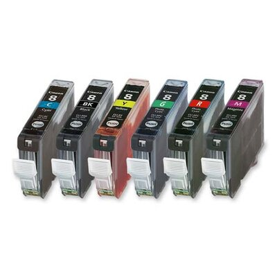Canon Ink Cartridge, 13 ml, 3/PK, Color