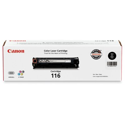 Canon Toner Cartridge, 1500 Page Yield, Yellow