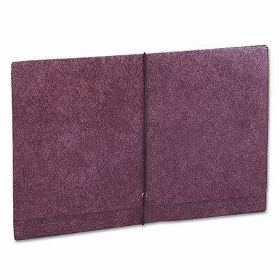 "Cardinal Brands, Inc Globe-Weis 5.25"" Expansion Accordion Wallets, Straight, Redrope, Legal"