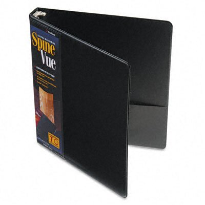 Cardinal Brands, Inc Spinevue Round Ring View Binder, 1in Capacity