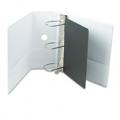 "Cardinal Brands, Inc Vinyl Clearvue Xtravalue Slant D-Ring Presentation Binder, 5"" Capacity"