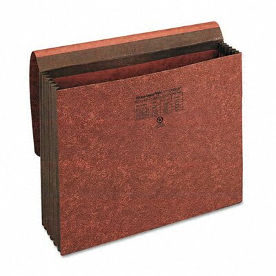 "Cardinal Brands, Inc Globe-Weis 5.25"" Expansion Accordion Wallet, Straight, Redrope, Letter"