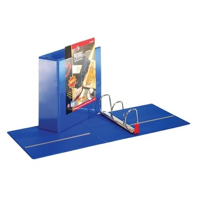 "Cardinal Brands, Inc Locking Slant-D Ring Binders w/ Lifters, w/ Sheet Lifter, 4"" Cap., BE"