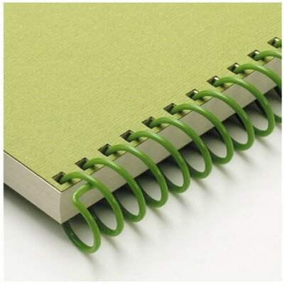 "Carl Manufacturing Carla Craft 12"" 9mm Binding System Spiral Ring in Olive Green"