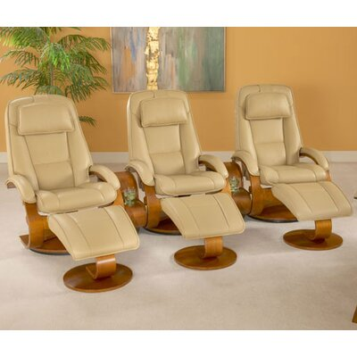 Mac Motion Oslo 52 Home Theater Recliner (Set of 3)