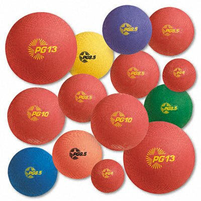 CHAMPION SPORT Playground Ball Set, Nylon ( Set of 12)
