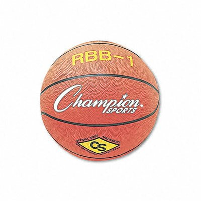 CHAMPION SPORT Rubber Sports Ball for Basketball, No. 7, Official Size