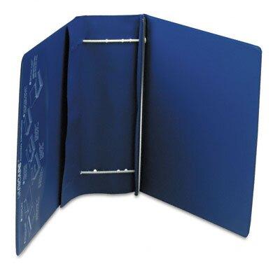 Charles Leonard Co. Varicap6 Expandable 1 To 6 Post Binder, 8-1/2 x 11, Blue