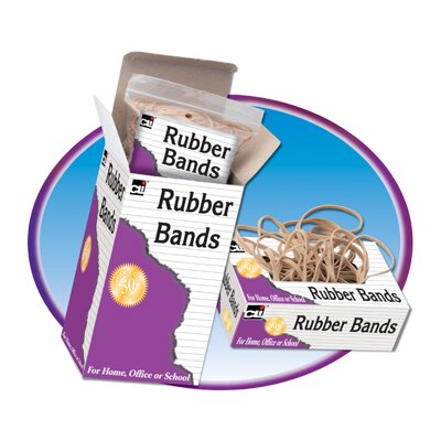 Charles Leonard Co. Rubber Bands 3 X 1/32 X 1/16 1/4 lb
