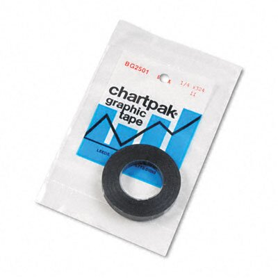 "Higgins Chartpak Graphic Chart Tape, 0.25"" x 324"""