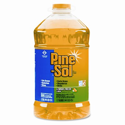 Clorox Company Lemon Fresh Pine Sol, 144 oz., 3/CT