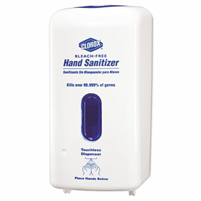 Clorox Company No-Touch Hand Sanitizer Dispenser, Adjustable Sensor, 1 Each