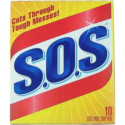 Clorox Company S.O.S Steel Wool Soap Pad