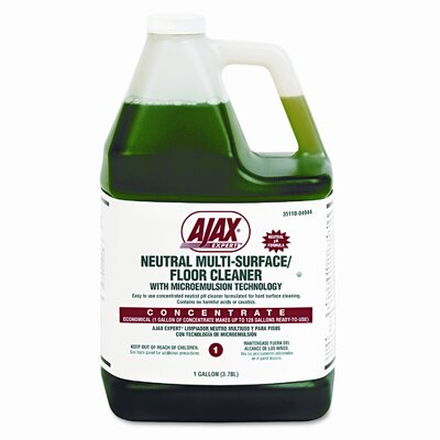 Colgate Palmolive Ajax Expert Neutral Multi-Surface/Floor Cleaner, Citrus, 1 Gal. Bottle