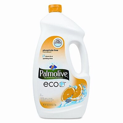 Colgate Palmolive Automatic Dishwashing Gel, Lemon, 75 Oz. Bottle