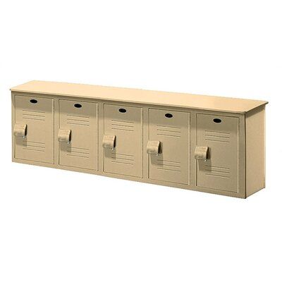 Lenox Plastic Lockers Lenox Locker Bench - 5 Ft