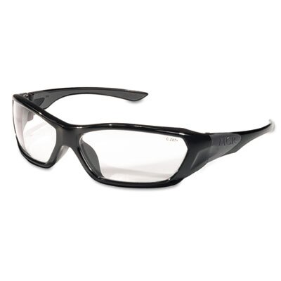 Crews® Forceflex Safety Glasses, Clear Lens