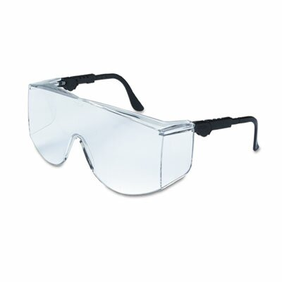 Crews® Tacoma Wraparound Safety Glasses, Clear Lenses