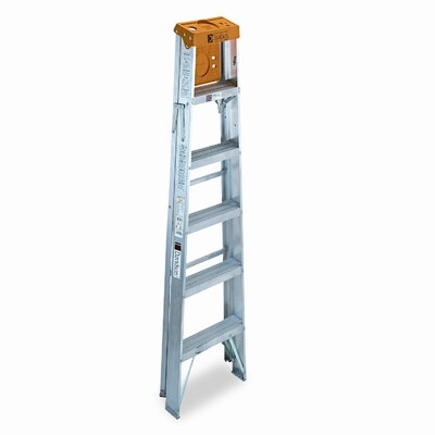 DAVIDSON LADDER, INC.                              6' Louisville #428 Folding Step Ladder