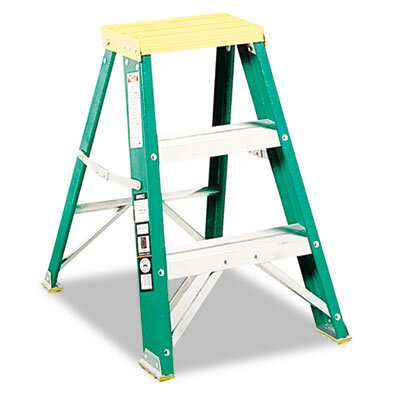 DAVIDSON LADDER, INC. Louisville #624 Folding Locking 2-Step Step Stool