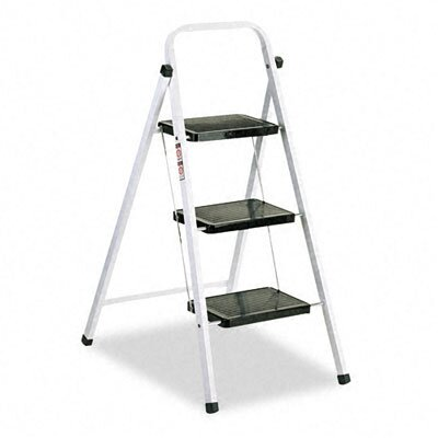 DAVIDSON LADDER, INC.                              Louisville Qs3 Quick Step Steel Three-Step Folding Stool