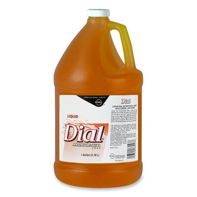 Dial® Complete® Liquid Soap, Removes Dirt and Kills Germs, 1 Gallon