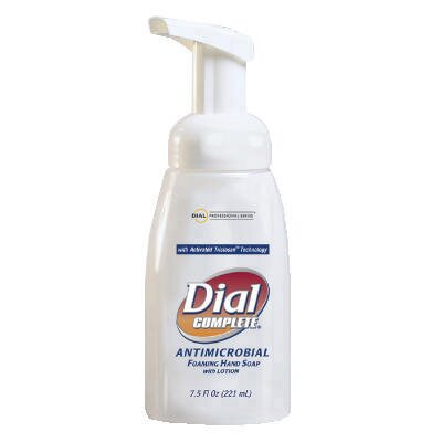 Dial® Complete® Antimicrobial Healthcare Foaming Hand Soap Tabletop Pump