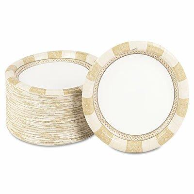 Dixie Pathways Mediumweight Paper Plates,Wisesize, 125 Per Pack