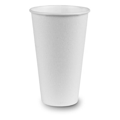 Dixie 16 oz perfect ouch Hot Cup in White