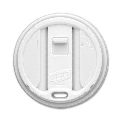 Dixie Top Reclosable Hot Cup Lid (10 Per Bag)