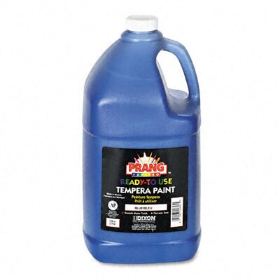 Dixon® Ready-to-Use Tempera Paint, Blue, One Gallon