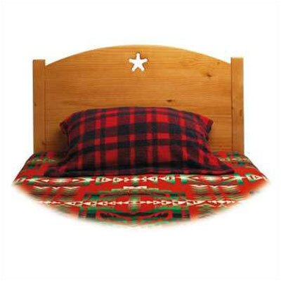 Little Colorado Traditional Star Twin Panel Headboard