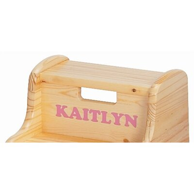 Little Colorado Kid's Solid Wood Step Stool