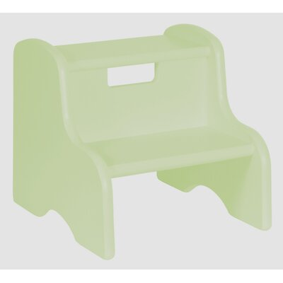 Kid's Step Stool in Pastel Green