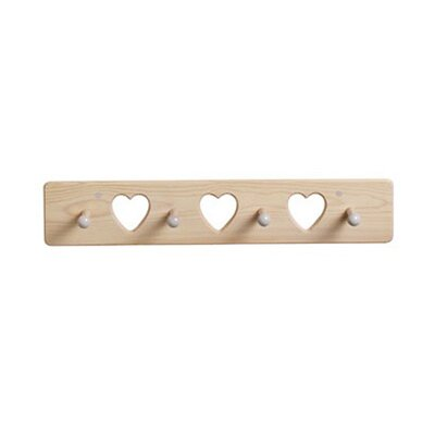 Heart Peg Coat Rack