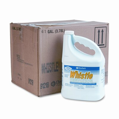DRACKETT PROFESSIONAL                              Whistle All-Purpose Cleaner, 1 Gal. Bottle, 4/Carton