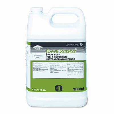 SC Johnson Professional Floor Spray Buff, 1gal Bottle, 4/carton