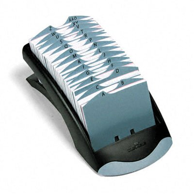Durable Office Products Corp. Telindex Desk Address Card File Holds 500 Cards