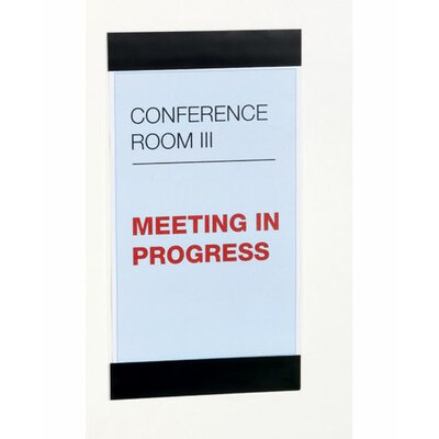 Durable Office Products Corp. DuraFrame Sign Holder