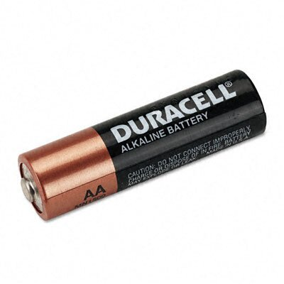 Duracell Coppertop Alkaline Batteries, AA, 12/pack