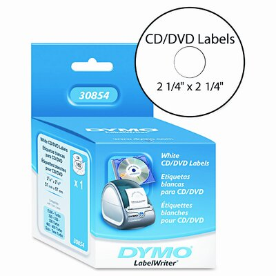 Dymo Corporation Cd/Dvd Labels, 160/Box
