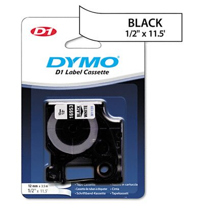 Dymo Corporation D1 Flexible Nylon Label Maker Tape, 1/2In X 12Ft