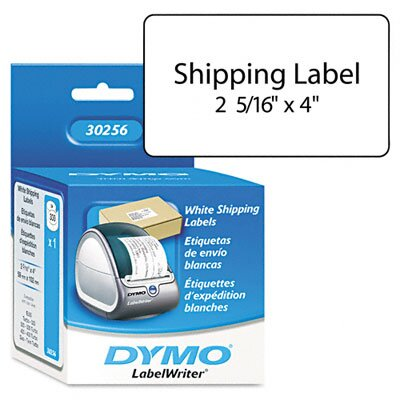 Dymo Corporation 30256 Shipping Labels, 300/Box