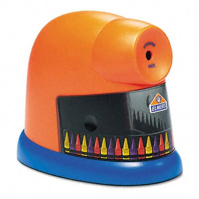 Elmer's Products Inc Crayonpro Electric Crayon Sharpener with Replacable Blade