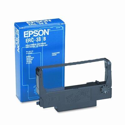 Epson America Inc. ERC38B Cash Register Ribbon, Fabric
