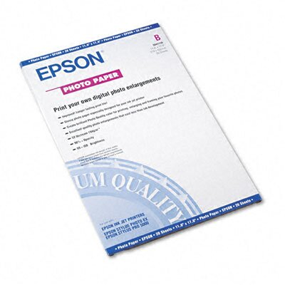 Epson America Inc. S041156 Glossy Photo Paper/Pack