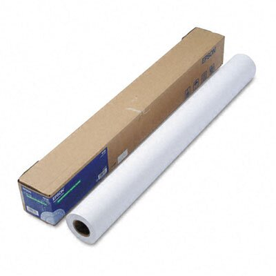 "Epson America Inc. Non-Glare Matte-Finish Inkjet Paper, Double-Weight, 36"" x 82ft Roll"