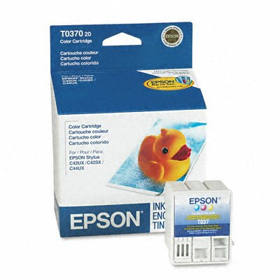 Epson America Inc. T037020 Inkjet Cartridge, Tri-Color