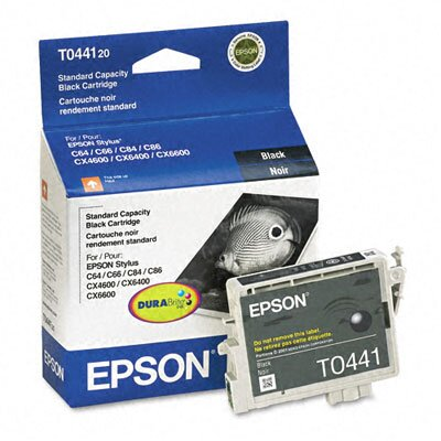 Epson America Inc. T044120 Durabrite Ink, 400 Page-Yield