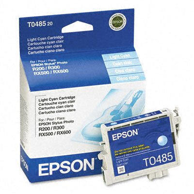 Epson America Inc. T048520 Quick-Dry Ink, 430 Page-Yield
